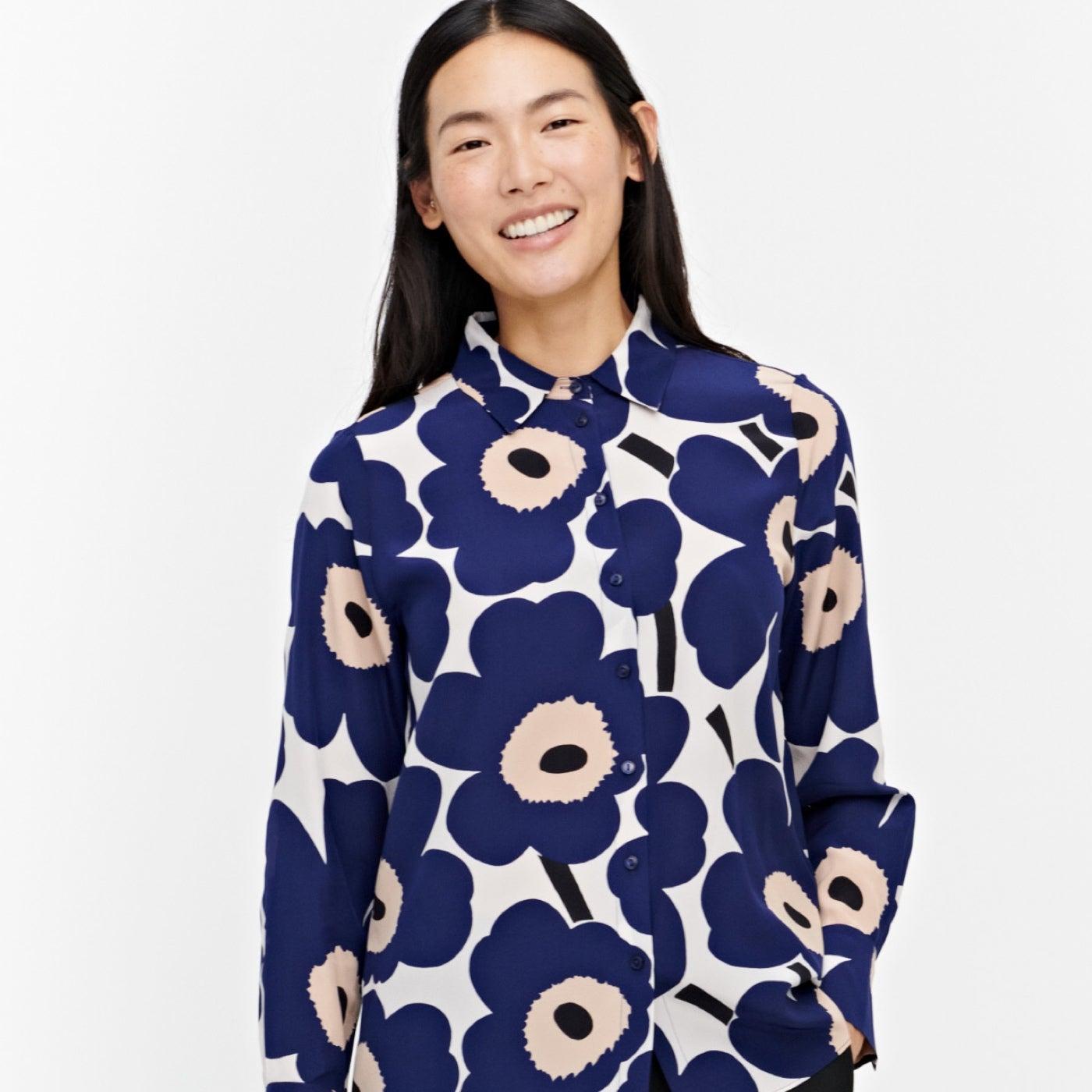 Marimekko silk shirt