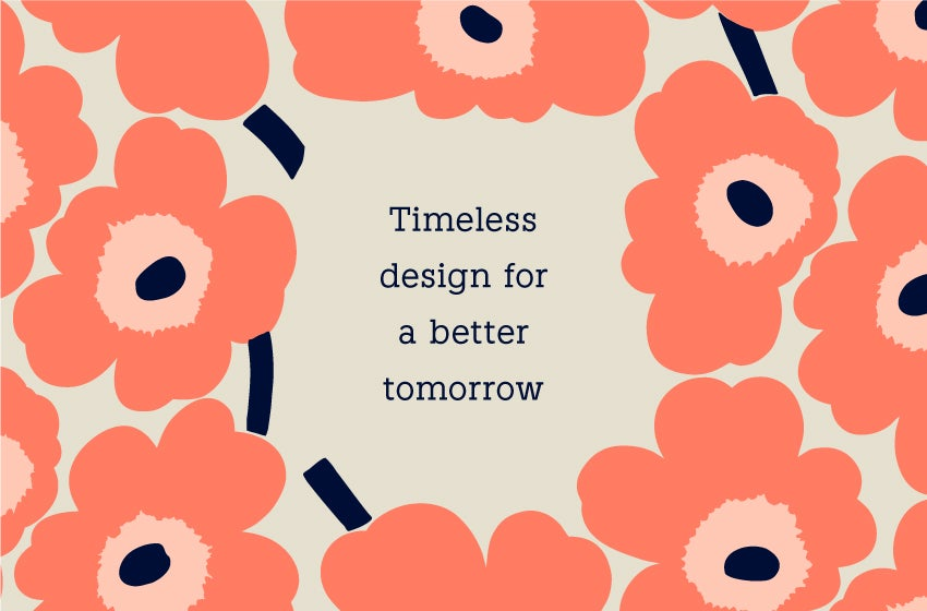 Timeless design for a better tomorrow