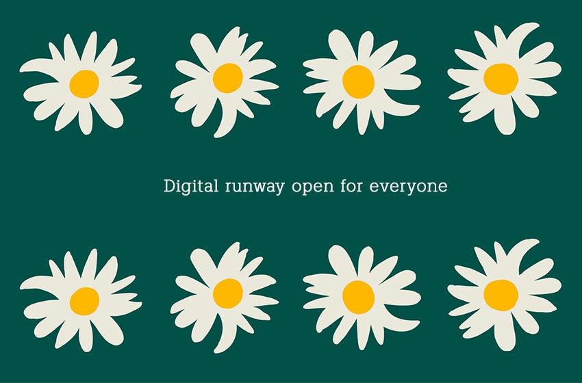 Digital runway open for everyone