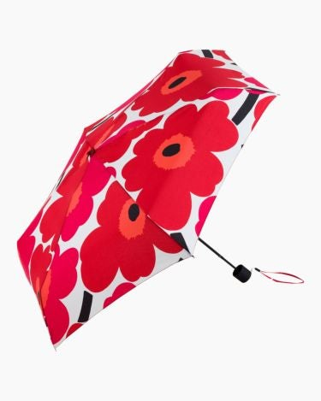 marimekko Unikko Mini Manual  umbrella red, white