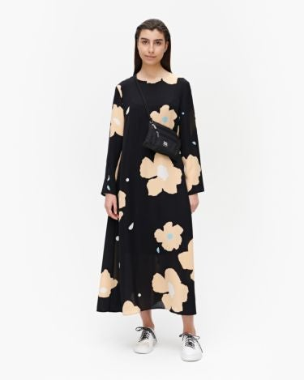 marimekko Hilbertti Lennokki dress beige, black, blue