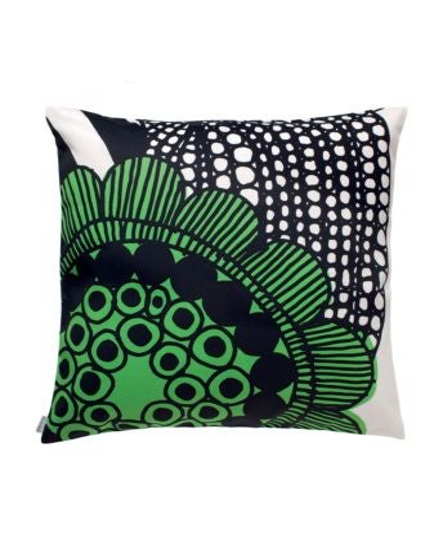 marimekko Siirtolapuutarha  cushion cover 50x50 cm green, white