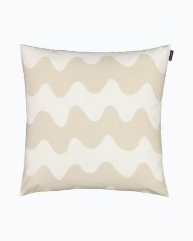 marimekko Pikkulokki  cushion cover 45x45cm beige, white