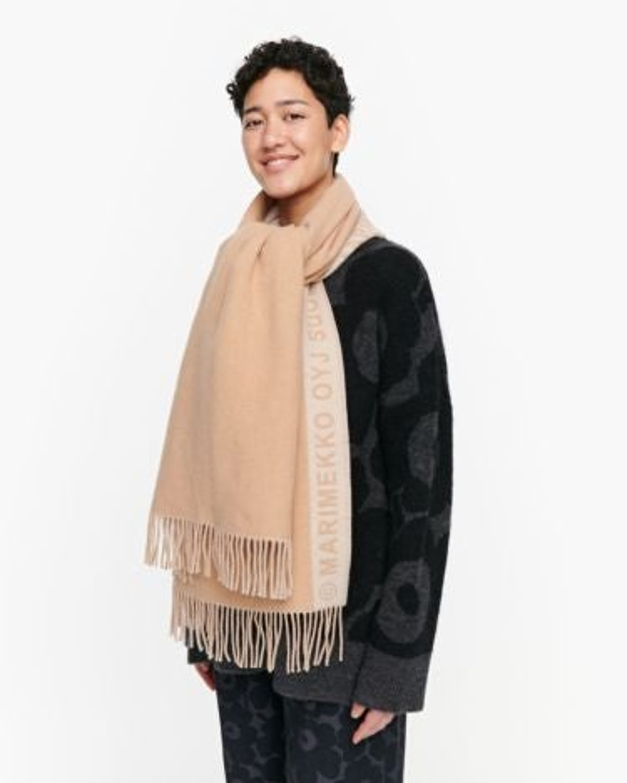 marimekko Siime scarf beige
