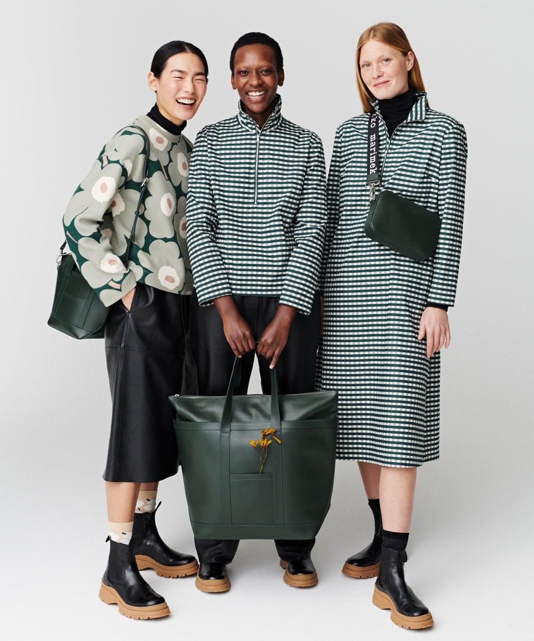 Marimekko leather bags