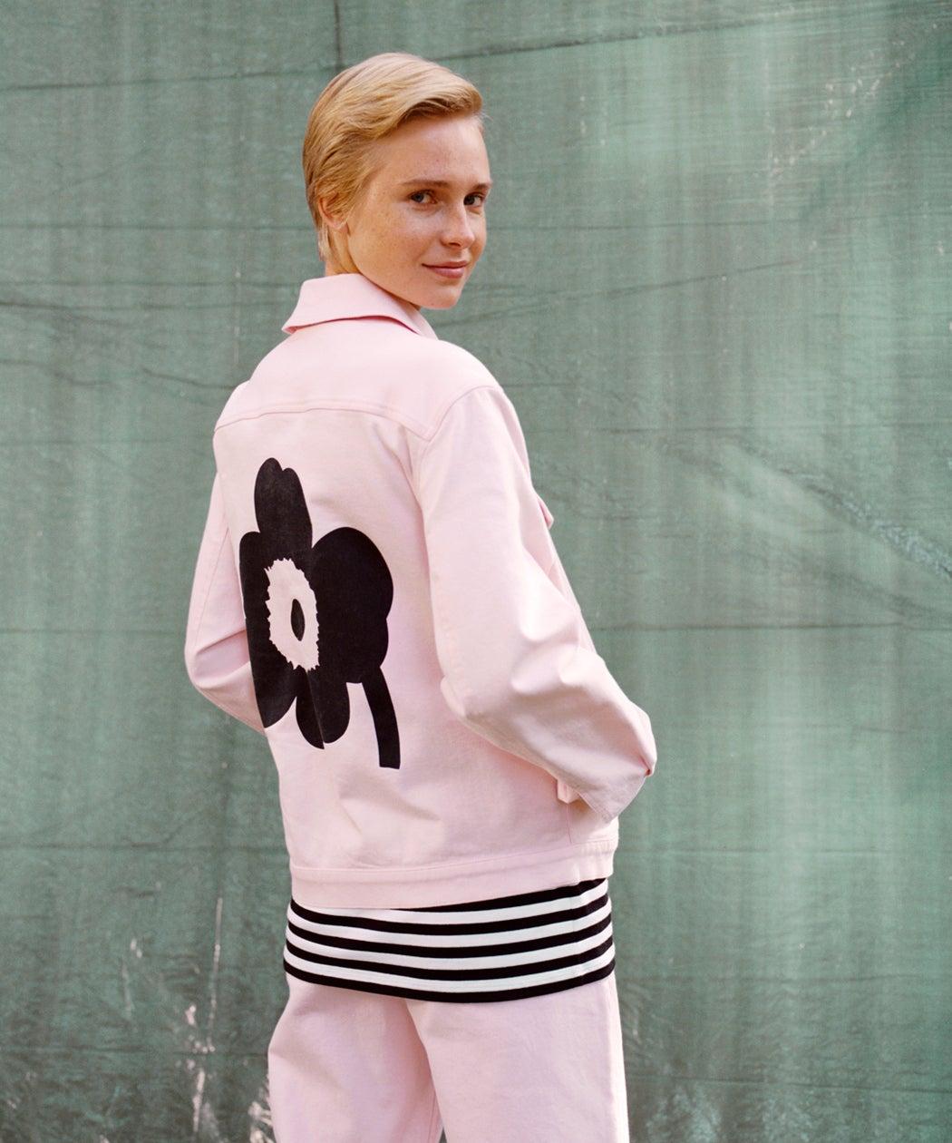 Marimekko Unikko coat