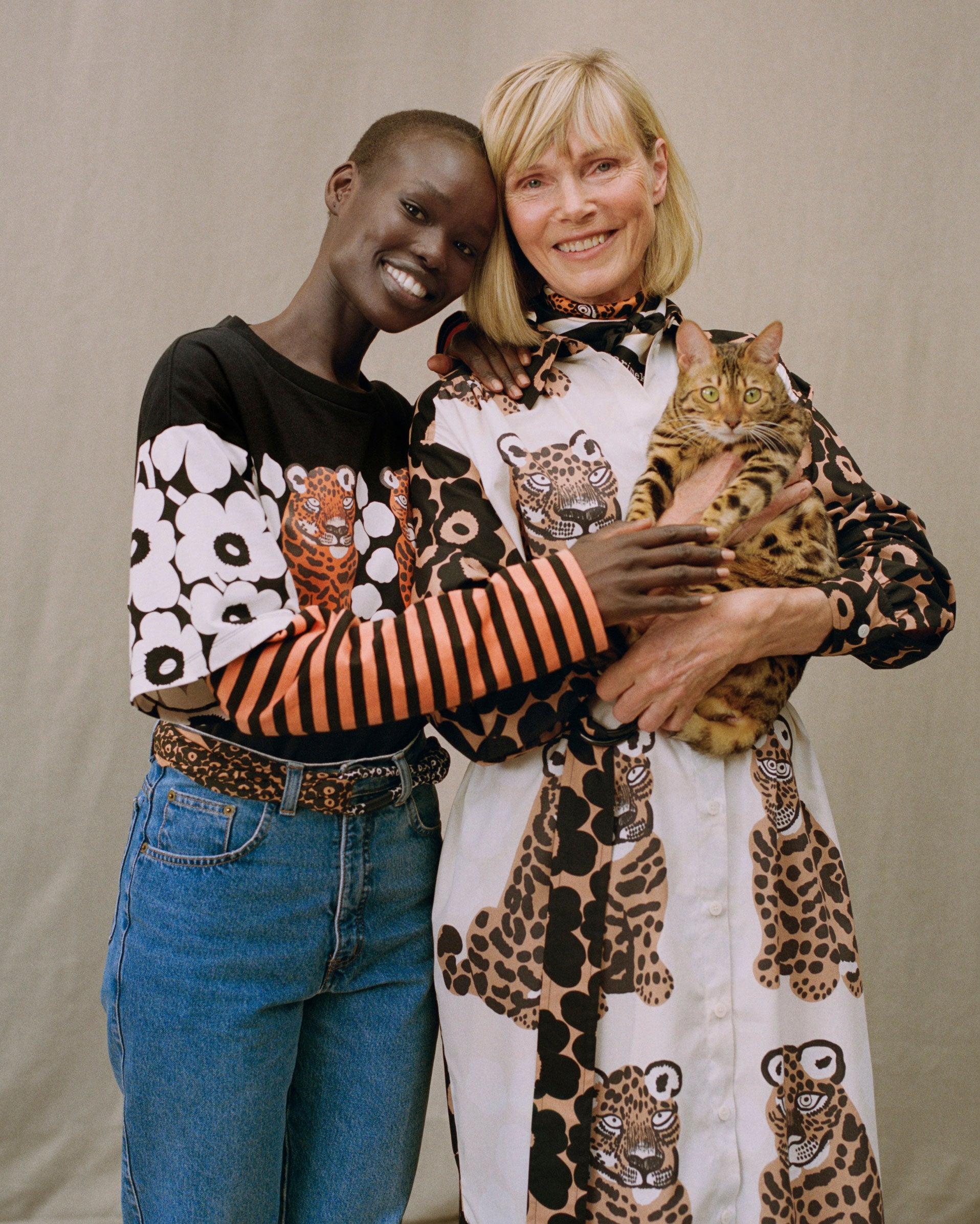 Marimekko Karhunputki Kaksoset Placement shirt